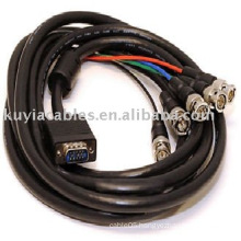 5M 15 Pin VGA to 5 BNC Connector Cable M/Mfor CCTV Security